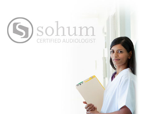 Become a <br>Sohum certified audiologist